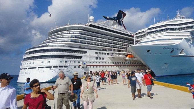 RD batió record en llegada de cruceros en 2017