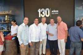 Fernando Ortega Zeller, Manuel Durán, Roberto Casoni, Fernando Ortega Brugal, Mairení Bournigal