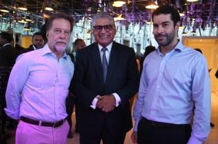Luis José Cabral, Fausto Fernández, Felipe Herrera