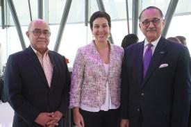 Quiterio Cedeño, Monika Infante, Arturo Villanueva