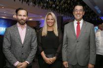 Hugo Pérez, Laura Cabrera, Juan Manuel Martín de Oliva