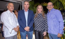 Pablo Díaz, Marcelo Ballester, Betina Rey y Ernesto Veloz / Imágenes Tabosky Photo & Video