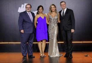Eduardo Valcárcel, Claudia Montás, Maria Alejandra Requena y Pablo Wiechers