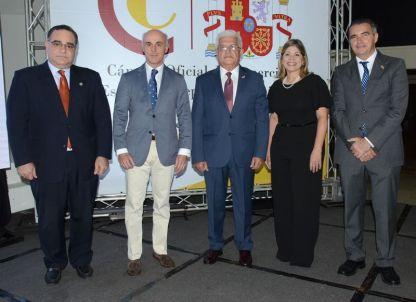Marcos Cochón, Alejandro Abellán García de Diego, Angel Baliño, Ana Adela Vásquez y Juan Antonio García