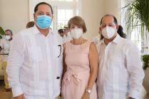 Mariano Sanz, Astrid Diaz y Ramsés Troncoso