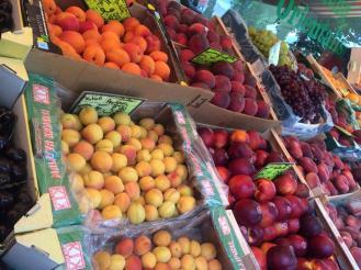 Street-side fruit stands