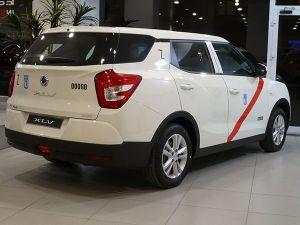 SsangYong XLV 16G GLP Taxi trasera - PUNTA TACÓN TV
