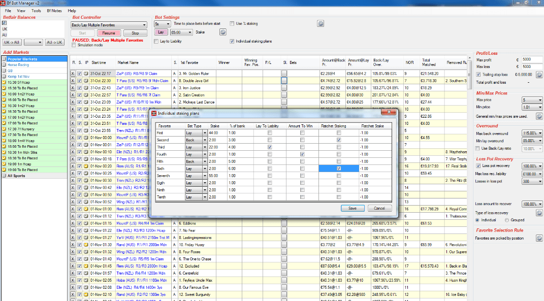 Z code betting robot software how to bet on football games in vegas