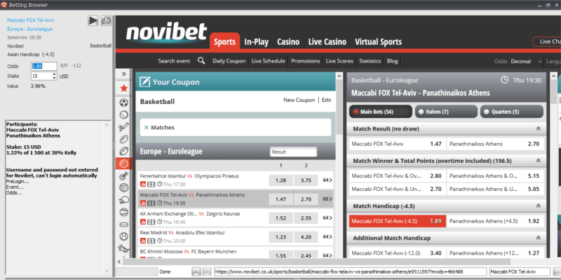The Best Value Betting Software/Finder (Trademate, Rebelbetting Value Bet Finder, Find Value Bets)