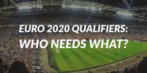 Euro 2020 Qualifiers -- Who Needs What This Week? (November 2019)