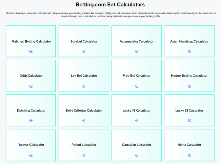 Betting.com - Check Stats, Follow Tipsters, Track & Analyse Bets