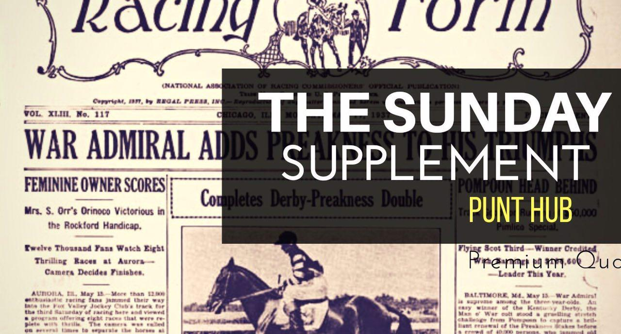 The Sunday Supplement – 10/01/21