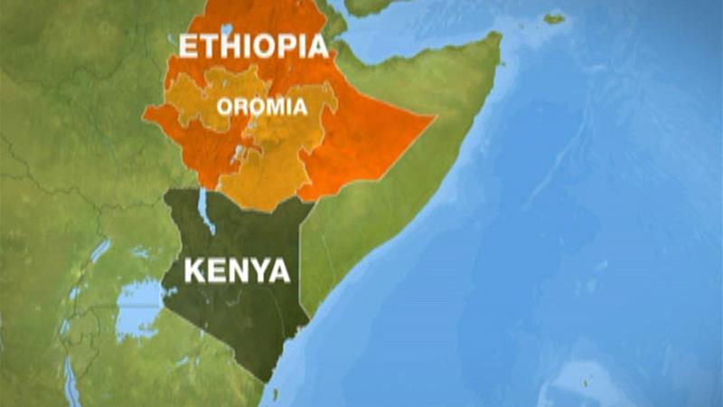 Dowladda Maraykanka oo ka hadashay rabshado ka qarxay dalka Ethiopia.