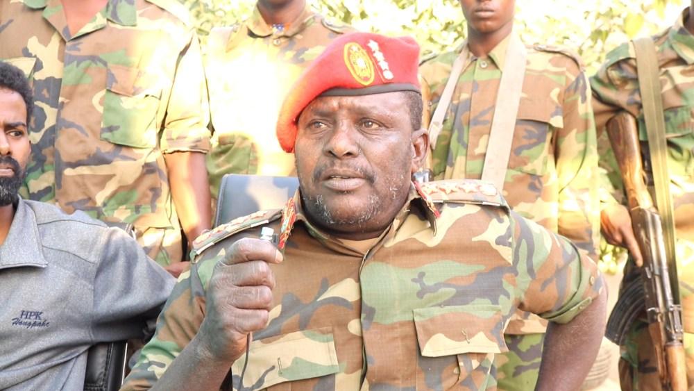 Col. Caarre oo sheegay in uu qabtay wasiirka Gaashaandhiga Somaliland
