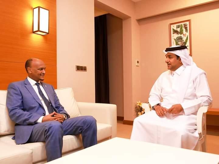 Mahdi Guuleed oo la kulmay Ergayga Qatar