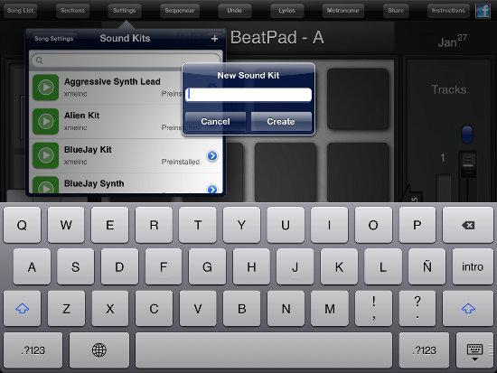 Sound Kit - guia crea beats con la aplicación BeatPad
