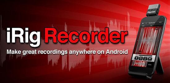IK Multimedia iRig Recorder Para Android