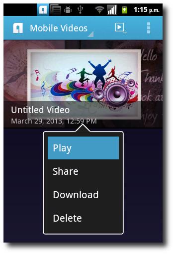 Reproducir Video En Animoto Para Android
