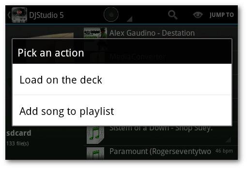 playlist DJ Android