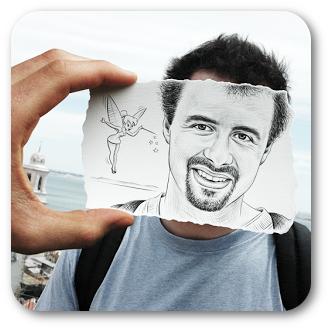 Cómo tomar fotos con plantillas utilizando Camera360 para Android