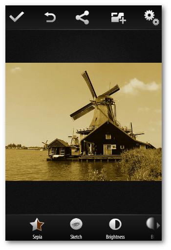 Interfaz de usuario Photo App android