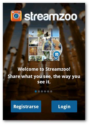 registrarse en Streamzoo