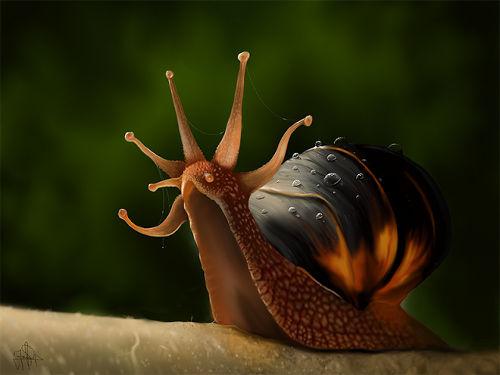 snail_king Painting Jaime Sanjuan