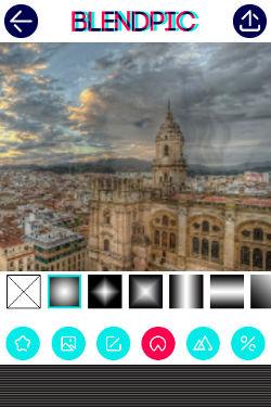 aplicación BlendPic Android