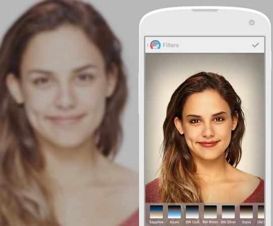 aplicacion para editar fotos en iOS y android