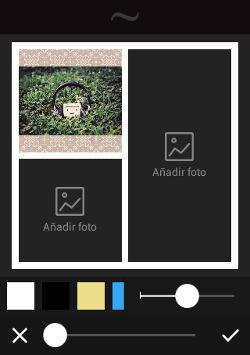 editar  texto y fotos en dispositivos Android