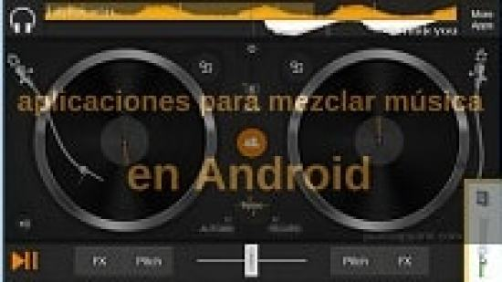aplicaciones para mezcla musica gratis