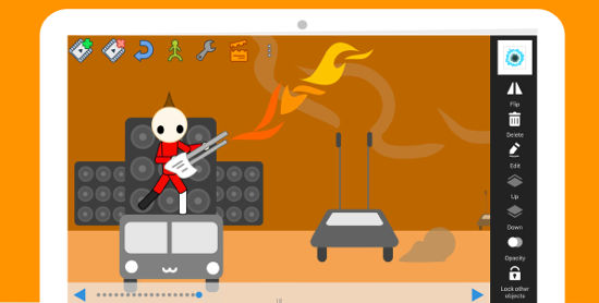 Draw Cartoons app para crear videos en android