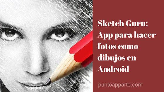 portada App para hacer fotos como dibujos en Android