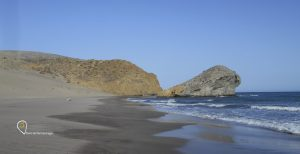 Lengua de lava de la Playa de Mónsul