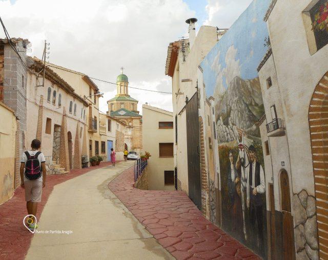 Callejeando por Almonacid de la Cuba, Aragón.
