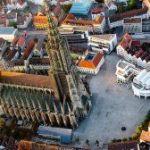 cattedrale di ulm vista dall'alto