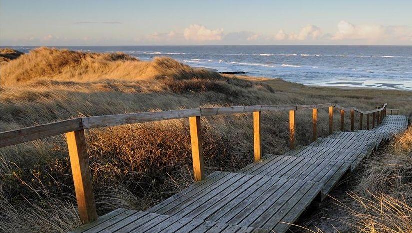 accesso al mare a sylt (elementi energetici)