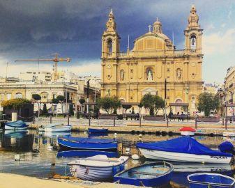 chiesa a Pieta a Malta