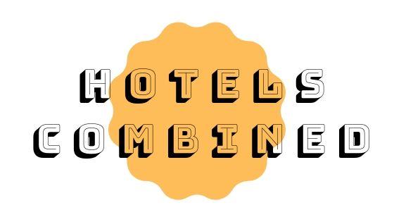 sfondo bianco scritta recensione hotels combined