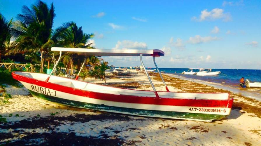 tipica barca messicana
