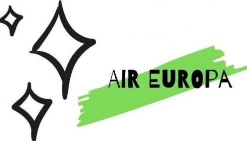 scritta recensione air europa e stelline