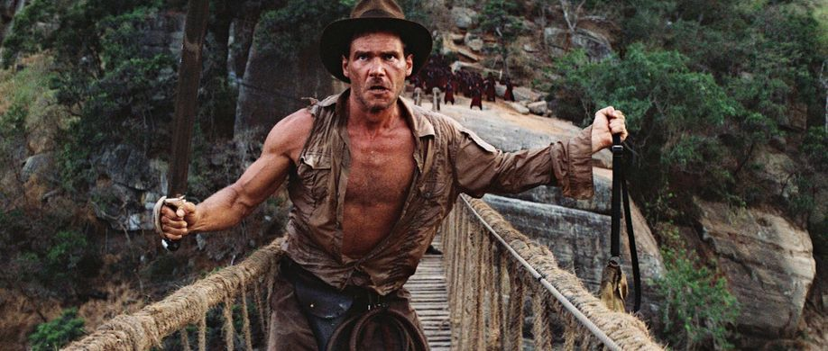 foto tratta da uno dei film di Indiana Jones
