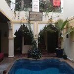 riad con piscina nella mia toccata e fuga a marrakesh