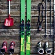 Foto con attrezzatura da sci a Bardonecchia