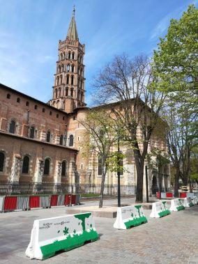 vista sulla basilica di san sernin