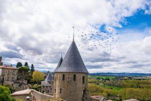 torre presente nel castello comtal