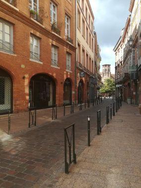 via ed edifici storici a tolosa