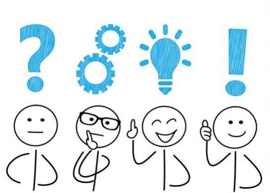 le lampadine simbolo delle idee