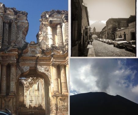 collage su antigua