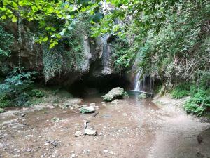 Una delle prime cascate che si vedono seguendo il percorso nero